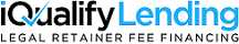 iQualify Lending - Legal Financing For Any Case Sticky Logo